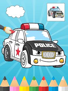 Çocuklar için boyama arabaları Apk İndir 1