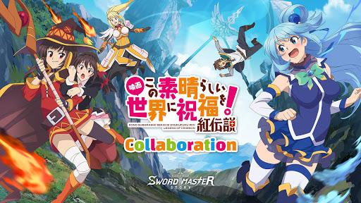 Code Triche Sword Master Story - Collaboration avec Konosuba (Astuce) APK MOD screenshots 1