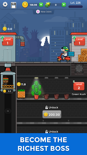 Weed Factory Idle android2mod screenshots 1