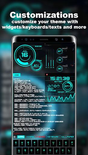 Hacker Launcher -- Aris Theme 4.2.4 Screenshots 4