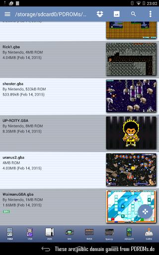 VGBAnext - Universal Console Emulator 6.4.2 screenshots 8
