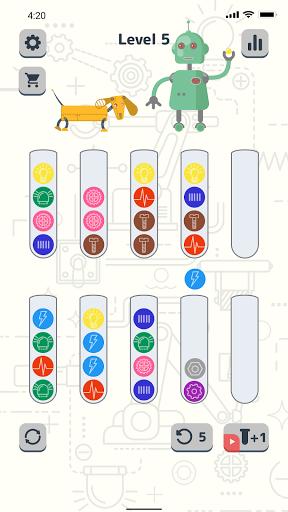 Sort Color Balls - puzzle game  screenshots 9