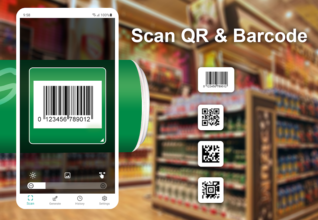 QR and Barcode Scanner  poster 0