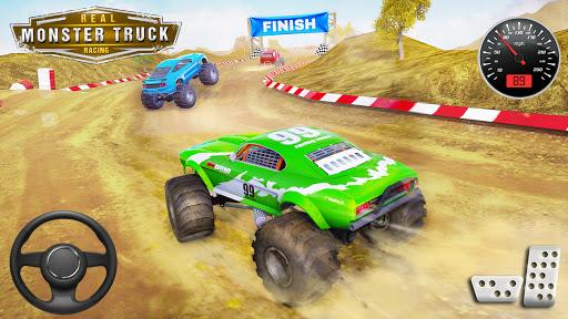 Monster Truck Car Racing Game apktram screenshots 11