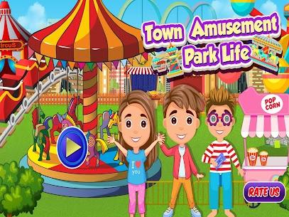 kasaba eğlence parkı hayatı  eğlenceli oyunlar Apk Son Sürüm 2021 1