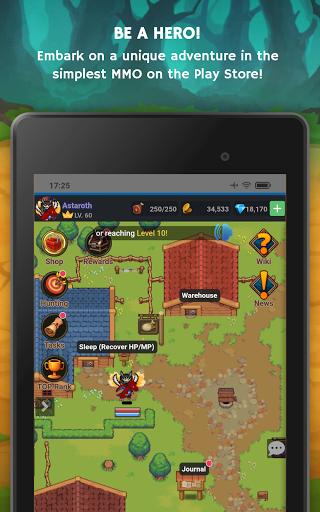 Mana Storia - Simple Browser MMORPG (Beta) 1.3 screenshots 17
