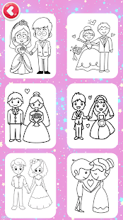 Wedding Glitter Coloring Pages & FireWorks
