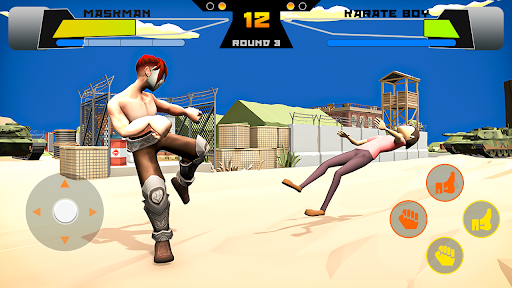 Code Triche Commando Fight Karate Fighting Game 2021 APK MOD (Astuce) screenshots 2