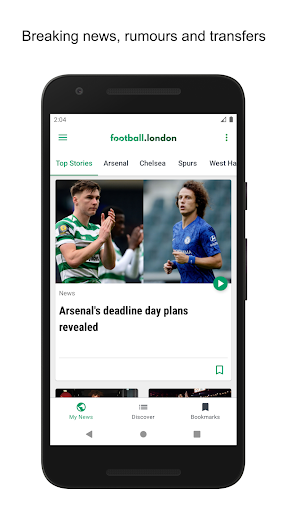 Football.London 5.0.3 screenshots 1