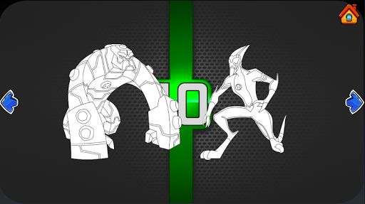 Ben Coloring 10 Ultimate Heros 1.07 Screenshots 3