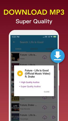 Free Music Downloader - Mp3 Music Download  screenshots 4