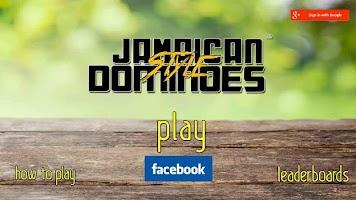 Jamaican Style Dominoes