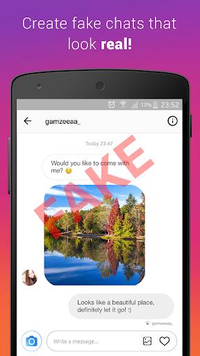 Fake Chat (Direct Message) 1.8 Screenshots 1