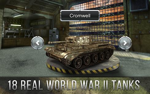 Tank Battle 3D: World War II (обновлено v 2.02) Мод (много денег) 3