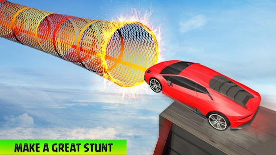 Ramp Car Stunts on Impossible Tracks Screenshot