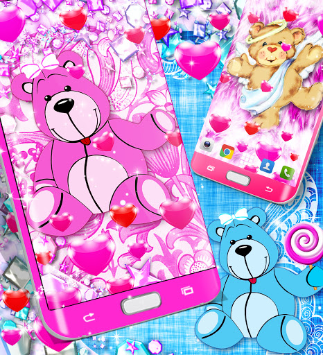 Teddy bear live wallpaper apktram screenshots 14