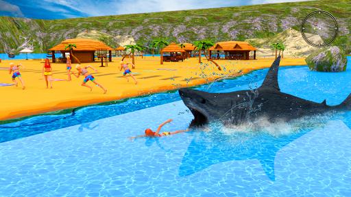 angry shark attack - wild shark game screenshot 3