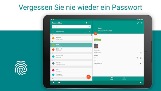 Password Safe - Sicherer Password Manager Screenshot