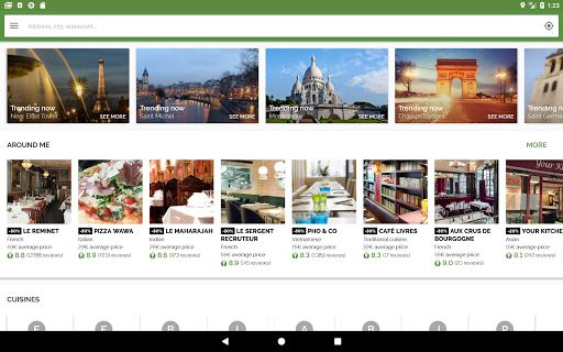 TheFork - Restaurants booking and special offers 17.2.1 Screenshots 6