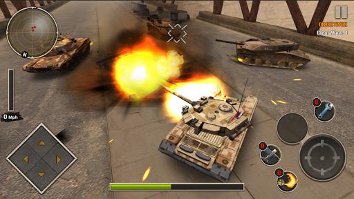 Code Triche Tank Force: Héros de guerre APK MOD (Astuce) screenshots 1