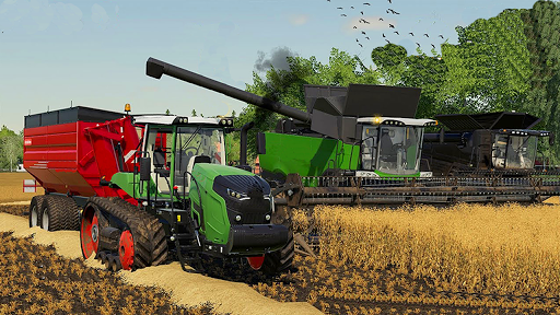 Offroad Tractor Simulator Cargo Farming Games 2021  screenshots 1