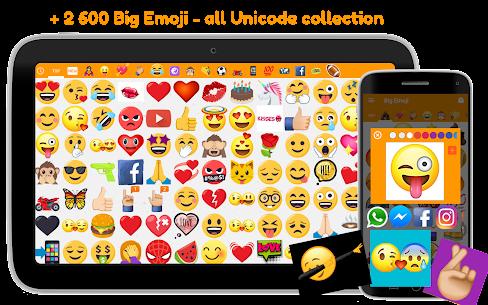 Big Emoji Mod Apk- large emoji for all chat messengers (Premium Feature Unlock) 7.0.0 8