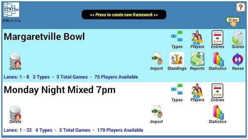 Bowling Brackets / Sidepots B*Bs-v6.017 screenshots 1