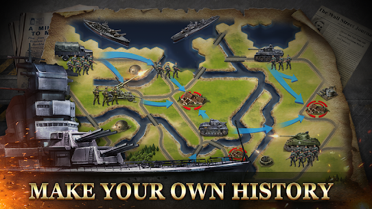 WW2: Strategy Commander Conquer Frontline 5