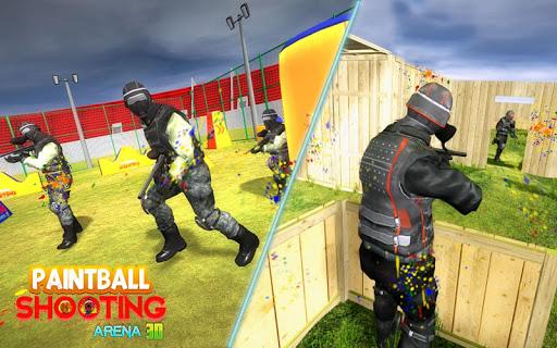 PaintBall Shooting Arena3D : Army StrikeTraining  screenshots 10