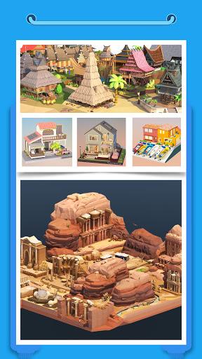 Pocket World 3D - Assemble models unique puzzle 1.8.9 Screenshots 4