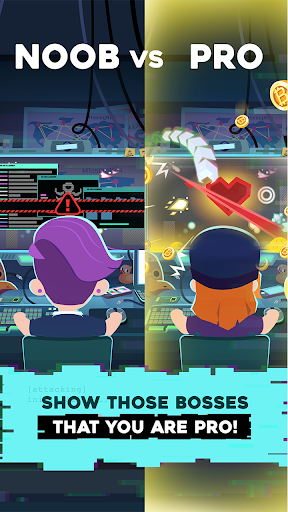 Hacking Hero - Cyber Adventure Clicker screenshots 5