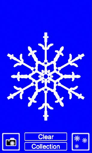 draw your own snowflake screenshot 1