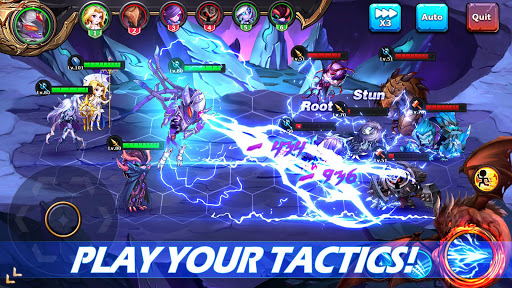 Runelords Arena: Tactical Hero Combat IDLE RPG screenshots 2