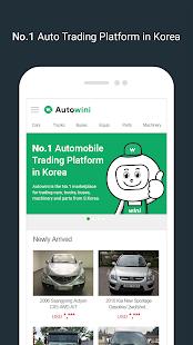 Autowini - No.1 Auto Trading Platform in Korea 2.6.3 Screenshots 1