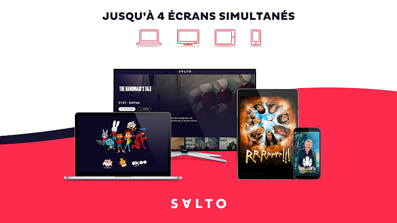 SALTO, TV & streaming illimité dans une seule app - Dernière Version Pour Android - Télécharger L'apk