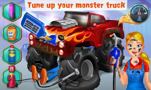 Mechanic Mike - Monster Truck Screenshot