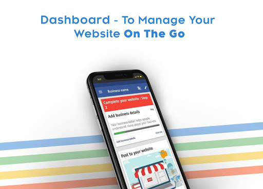 Instant Website Builder: Websites.co.in App apktram screenshots 17