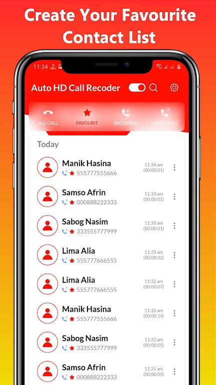Auto HD Call Recorder Pro  poster 3