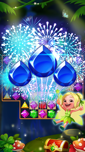 Jewels Forest : Match 3 Puzzle apklade screenshots 1