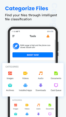 File Manager: file master, booster& power cleanのおすすめ画像1