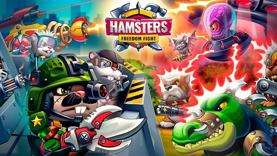 Hamsters: PVP Fight for Freedom Mod Apk 1.50 8