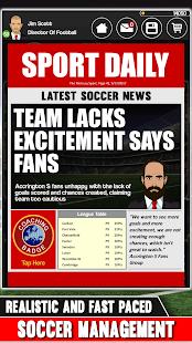 Club Soccer Director - Soccer Club Manager Sim screenshots 4