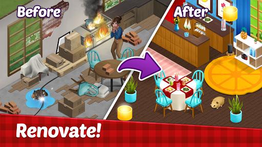 Fancy Cafe Mansion - Restaurant renovation games  screenshots 8
