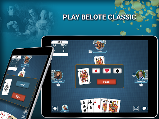 Blot - Belote Coinche Multiplayer 2.4.0 screenshots 11