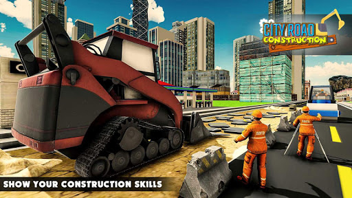 Mega City Road Construction Machine Operator Game 3.9 screenshots 1