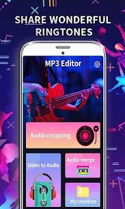 MP3 Editor: Cut Music, Video To Audio 1