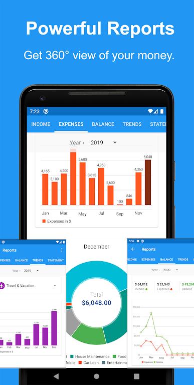 Money Manager App, Budget, Expense tracker & Bills  poster 4