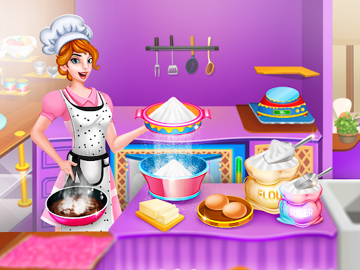 My Bakery Shop: Cake Cooking Games screenshots 1