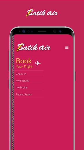 Batik Air Screenshot 1