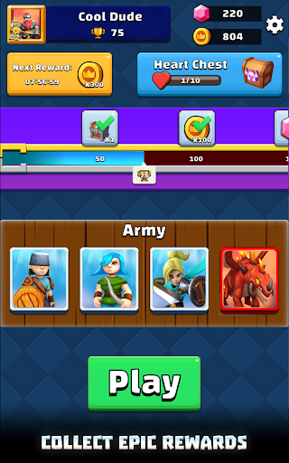 Merge War: Army Draft Battler apkpoly screenshots 12